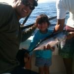 Regina dia de pesca 07 sep 2012.JPG Regina y su Barrilete con su papa Axel.