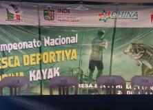 1er Campeonato Nacional de Pesca Deportiva en Lobina Kayak