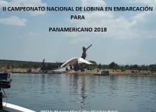 II CAMPEONATO NACIONAL DE LOBINA EN EMBARCACIÓN PARA  PANAMERICANO 2018